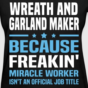 Wreath And Garland Maker T-Shirts - Women's T-Shirt