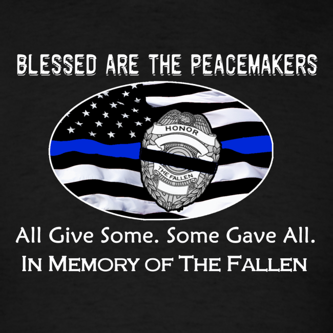 Tnw Thin Blue Line Designs In Memory Of The Fallen Police