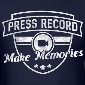 pressrecord_makememories2 T-Shirts - Men's T-Shirt