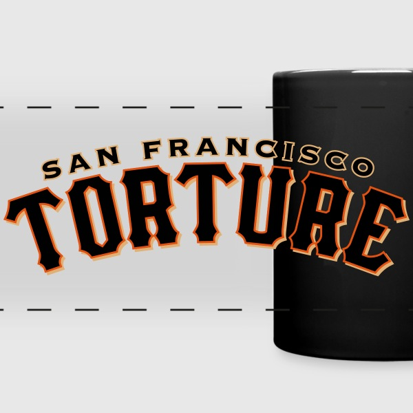 Giant Torture Mugs & Drinkware - Full Color Panoramic Mug