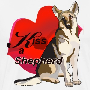 Kiss A Shepherd - Men's Premium T-Shirt
