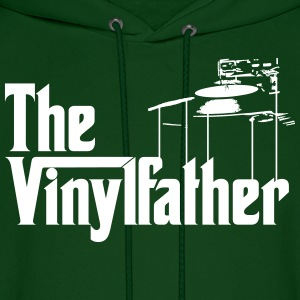 The Vinylfather Djing Hoodies - Men's Hoodie