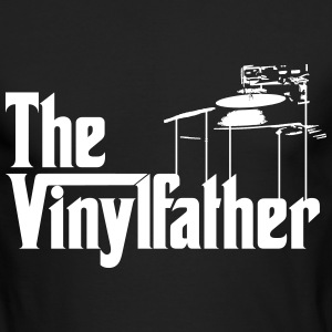 The Vinylfather Djing Long Sleeve Shirts - Men's Long Sleeve T-Shirt by Next Level