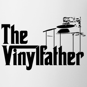 The Vinylfather Djing Mugs & Drinkware - Coffee/Tea Mug