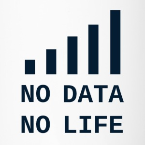 No Data, No Life - Travel Mug