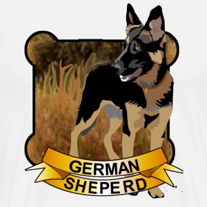 German Shepherd - Men's Premium T-Shirt