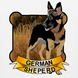 German Shepherd - Men's Premium Tank
