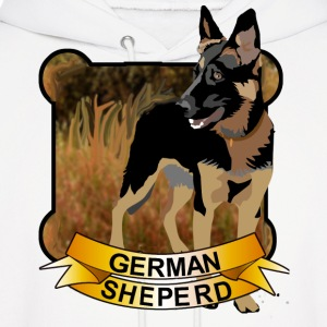 German Shepherd - Men's Hoodie