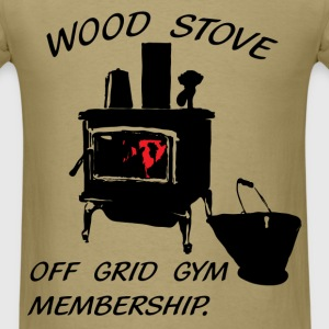 Wood stove. - Men's T-Shirt