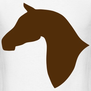 Horse Outline T-Shirts - Men's T-Shirt