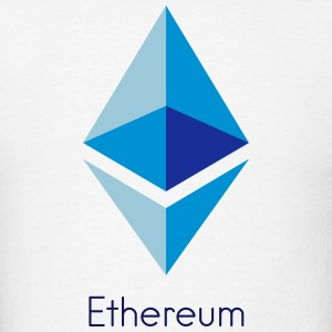 Ethereum Logo T-Shirts - Men's T-Shirt