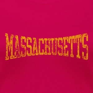 Massachusetts Vintage & Retro T-shirt - Women's Premium T-Shirt