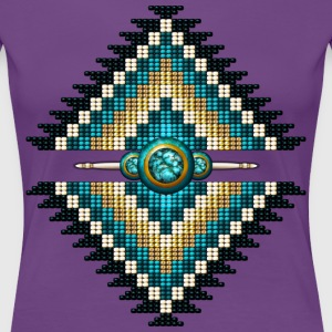 Native American Beadwork 10 - Women's Premium T-Shirt