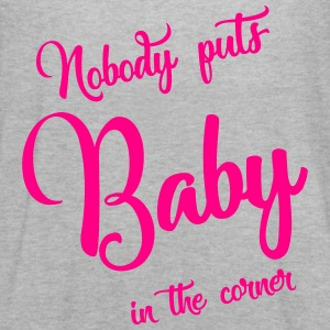 nobody puts baby in the corner Tanks - Women's Flowy Tank Top by Bella
