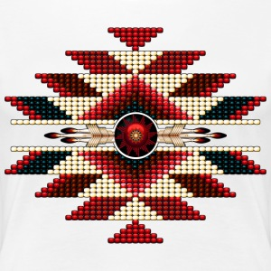 Native American Beadwork 11 - Women's Premium T-Shirt