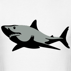 Shark Smile Filled T-Shirts - Men's T-Shirt