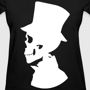 Skull Top Hat T-Shirts - Women's T-Shirt