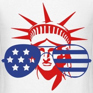 Statue of Liberty Oversized Shades T-Shirts - Men's T-Shirt
