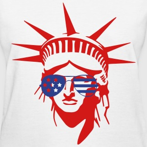 Statue of Liberty Shades T-Shirts - Women's T-Shirt