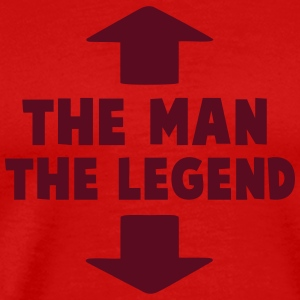 man legend T-Shirts - Men's Premium T-Shirt