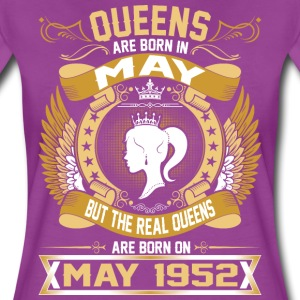The Real Queens Are Born On May 1952 T-Shirts - Women's Premium T-Shirt