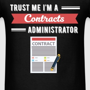 Contracts Administrator - Trust me I'm a Contracts - Men's T-Shirt