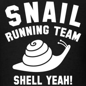 Snail Running Team - Men's T-Shirt
