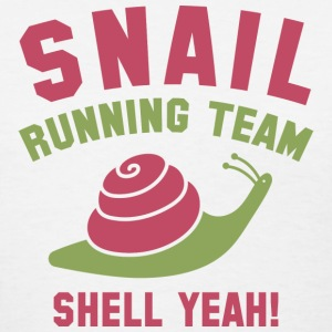 Snail Running Team - Women's T-Shirt