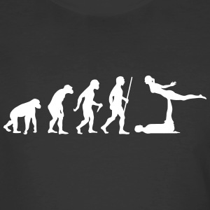 Evolution Acro | Funny Yoga Design T-Shirts - Men's 50/50 T-Shirt