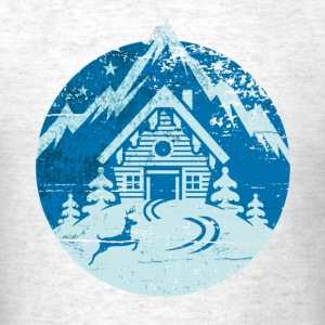 Ski Hut - Men's T-Shirt