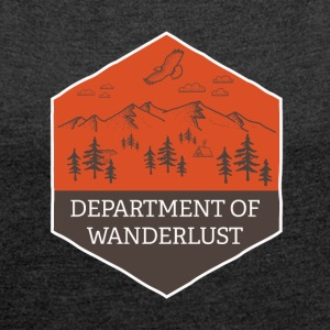 Department of Wanderlust and Adventure - Women´s Roll Cuff T-Shirt