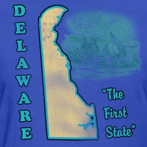 Delaware, The First State vintage womens t-shirt - Women's T-Shirt