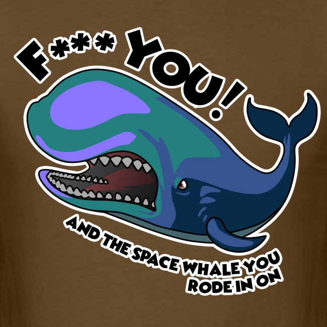 F*** YOU Space Whale