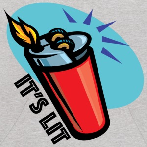 It's Lit retro lighter Sweatshirts - Kids' Hoodie