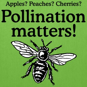 Pollination Matters Beekeeper Design Bags & backpacks - Tote Bag
