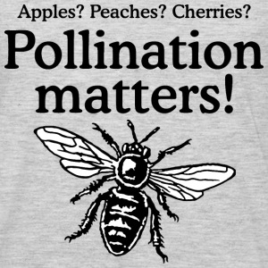 Pollination Matters Beekeeper Design Long Sleeve Shirts - Men's Premium Long Sleeve T-Shirt