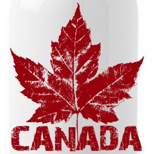Canada Souvenir Travel Mug Cool Canada Maple Leaf  - Water Bottle