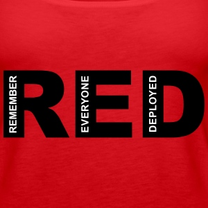 R.E.D Friday Remember Tanks - Women's Premium Tank Top