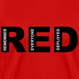 R.E.D Friday Remember T-Shirts - Men's Premium T-Shirt