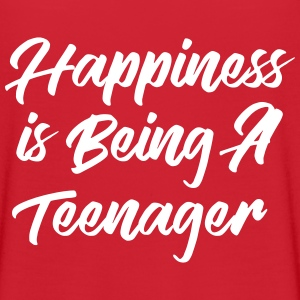 Happiness is being a teenager T-Shirts - Women's Flowy T-Shirt