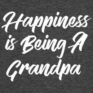 Happiness is being a grandpa T-Shirts - Men's 50/50 T-Shirt