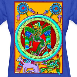 Celtic Illumination - Winged Lion - Women's T-Shirt