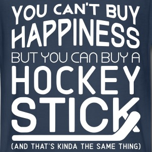 You Can't Buy Happiness (Hockey Player) Kids' Shirts - Kids' Premium Long Sleeve T-Shirt