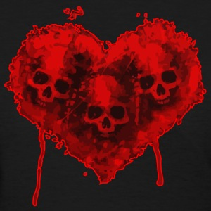 heart skulls - Women's T-Shirt