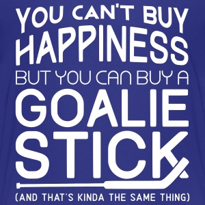 You Can't Buy Happiness (Hockey Goalie) Kids' Shirts - Kids' Premium T-Shirt