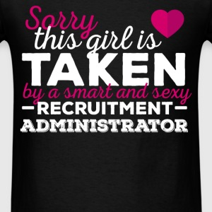 Recruitment Administrator - Sorry this girl is tak - Men's T-Shirt