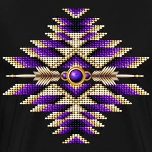 Native American Beadwork 12 - Men's Premium T-Shirt