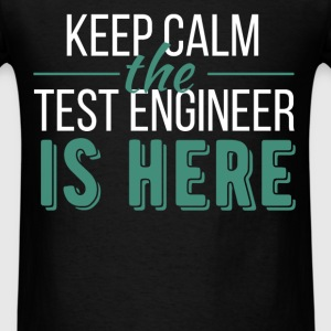 Test Engineer - Keep calm the Test Engineer is her - Men's T-Shirt