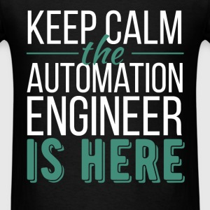 Automation Engineer - Keep calm the Automation Eng - Men's T-Shirt