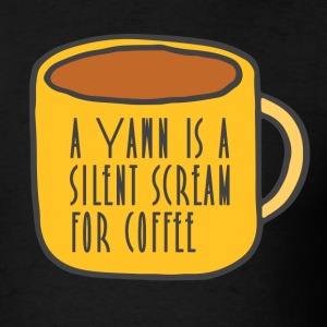 Funny coffee - Men's T-Shirt